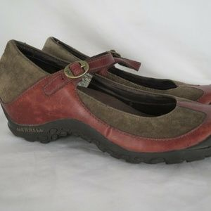 Merrell Plaza Womens Shoes size 8 Mary Janes Shoes